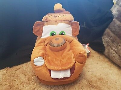 Disney Pixar Cars Mater Plush Large (25cm Tall , 39cm Long ) Brand New with Tags