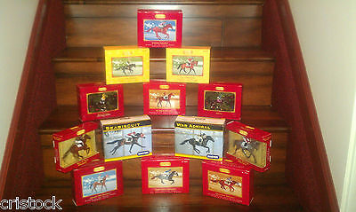 Breyer Race Horse Ornaments Complete 14 Horse Set