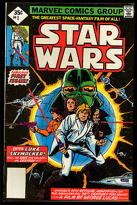 Star Wars #1 (Reprint) Nice Bronze Age First Issue Marvel Comic 1977 FN+