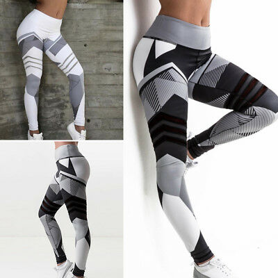 WomenYoga Sports Leggings Running Gym Pants Trousers Gym Female Active Wear