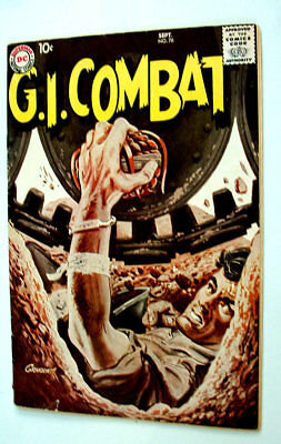 1959 Gi Combat Issue #76 Comic Book Very Nice 6.0 Condition