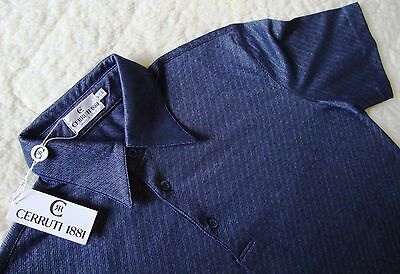 POLO SHIRT  slimfit vintage 90's CERRUTI 1881 tg.50-M Made in Italy  NEW! RARE