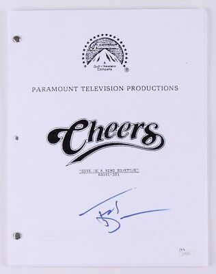 "TED DANSON - Signed ""Cheers"" Full Television Script"