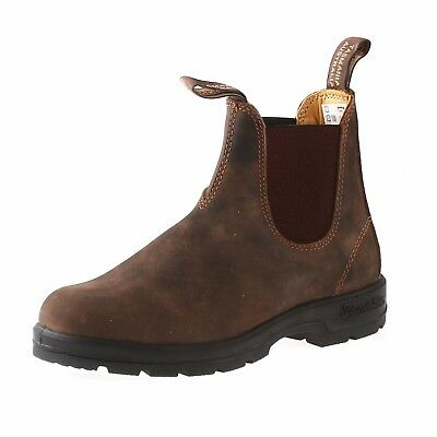 NEW Blundstone Style 585 Rustic Brown Leather Boots For Women
