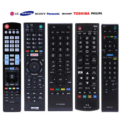 REPLACEMENT UNIVERSAL TV Remote Control for  Samsung/Panasonic/Sony/TCL/Philips
