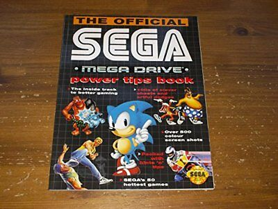 THE OFFICIAL SEGA MEGA DRIVE POWER TIPS BOOK. by West, Neil. Book The Cheap Fast