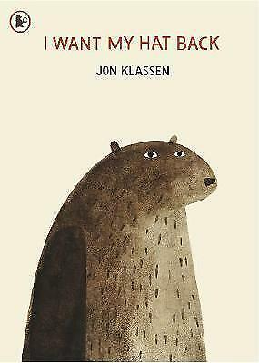 I Want My Hat Back by Jon Klassen New Paperback Book Bestseller Kids Children