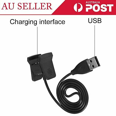 Replacement USB Charging Charger Cable Cord Fr Fitbit Alta HR Smart Wristband Q#