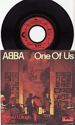 "ABBA - ONE OF US Very rare 1981 german 7"" P/S Single Release! EX"