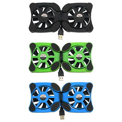 "USB Port Mini Octopus Notebook Fan Cooler Cooling Pad For 7""-15"" Laptop A^^"
