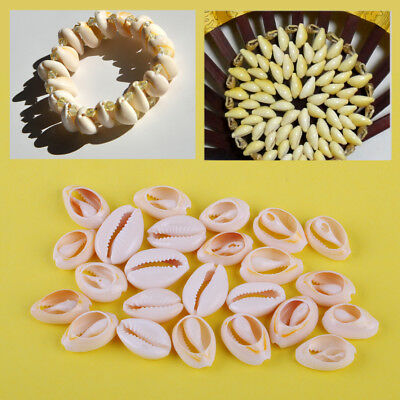 50Pcs Small Bulk Natural Beach Sea Cowry Cowrie Shell for DIY Jewelry Decoration