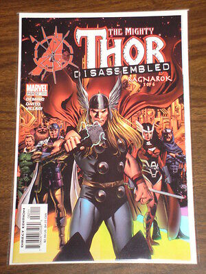 Thor #82 Vol2 The Mighty Marvel Comics Disassembled September 2004