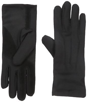 Isotoner Women's Womens Stretch Classics Fleece Lined Gloves Black One Size