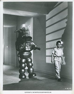 Richard Eyer Robby The Robot The Invisible Boy 1957 Vintage Photo Original #2