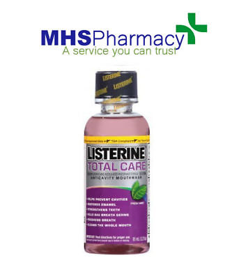 Listerine Total Care Mouthwash Clean Mint -95ml Travel Size