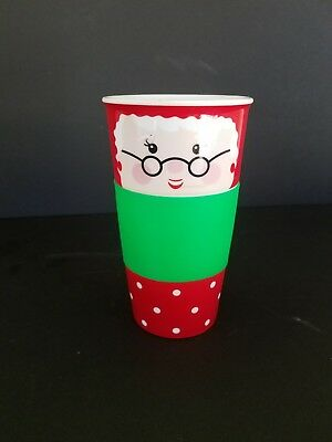 Mrs Claus Coffee Mug Cup large rubber grip