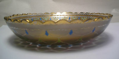 An Antique Enameled Glass Bowl A15