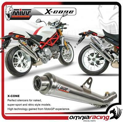 Mivv X-Cone 2 Auspuff genehmigt Stahl DUCATI Monster S4Rs 2006> 06>