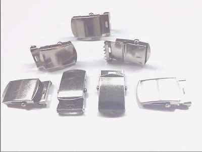 "1""  Chrome buckles  (25)   used for web belts"