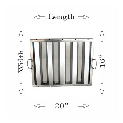 """Stainless Steel Hood Grease Filters 
