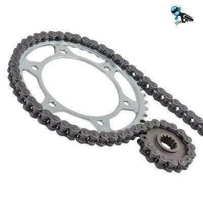 Black Xring Chain and Sprocket kit Yamaha YZF R1 14B-1KB 09-14