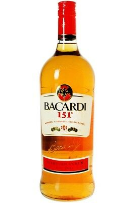 BACARDI 151 Rare Collectible (Discontinued) I