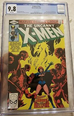 Uncanny X-Men #134 CGC 9.8 NM/Mint White Pages New CGC Case