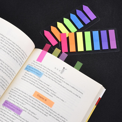 Outus 560 Pieces Page Markers Arrow Flags Tabs Fluorescent Sticky Notes Writable