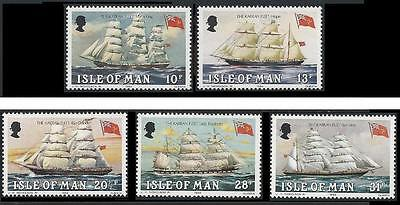 Isle of Man (Manx) MNH Stamps 1984 The Karren Fleet
