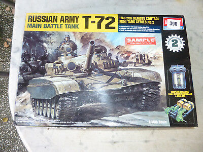 Russian Army Panzer Main Battle Tank T 72 Remote Control Bausatz 1/48