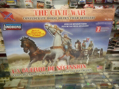 Lindberg  The Civil War La Guerre De Secession  Confederate Artillery   Nib