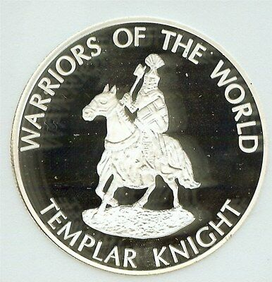Warriors Of The World 2010 10 Francs - Templar Knight - Perfect Proof Dcam
