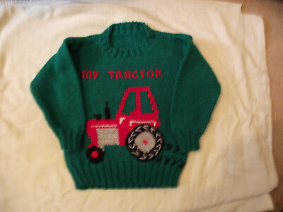 my tractor green jumper 2/3 years