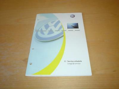 VW SERVICE BOOK GOLF GTI PLUS TDI JETTA POLO CLASSIC LUPO Owners Manual Handbook