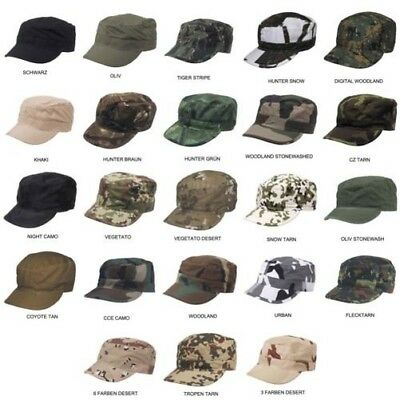 US Army Bundeswhr Casquette de Baseball Mititary Rip Stop