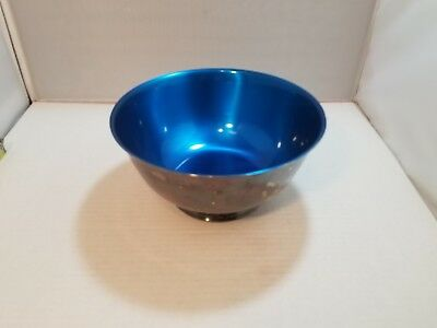 Sons Of Liberty Bowl By Paul Revere- Silver Plate / Blue Enamel