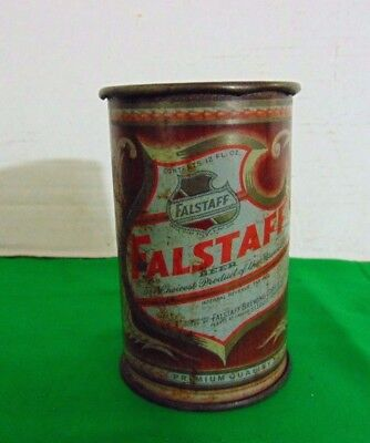 Vintage Falstaff Cone Top Beer Can Made Into A Mug #2