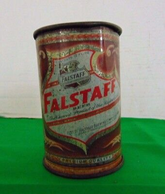 Vintage Falstaff Cone Top Beer Can Made Into A Mug #3