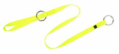 Weaver Leather Adjustable Chain Saw Strap, Yellow