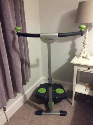 Twist And Shape exercise machine with charts and manual