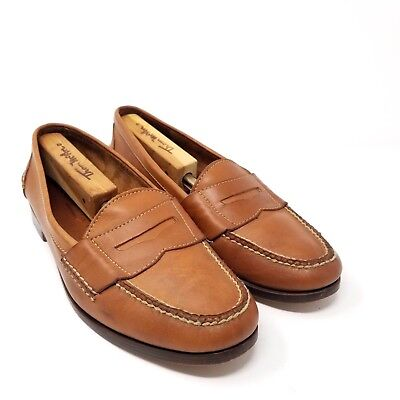 Cole Haan Mens Light Brown Pinch Grand Penny Loafer Brown Slip On Size 11 D