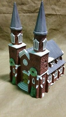 Department 56 Dickens Village Series 1987 Brick Abbey House Building