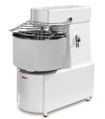 New Dough/Spiral Mixer,48 Lts(50 lbs flour) 2 hp,2 Sp Made in Italy,3ph,AMA050T