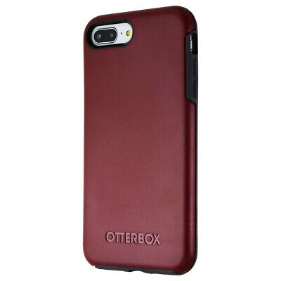 OtterBox Symmetry Series Case for Apple iPhone 7 Plus/8 Plus - Dark Red/Gray