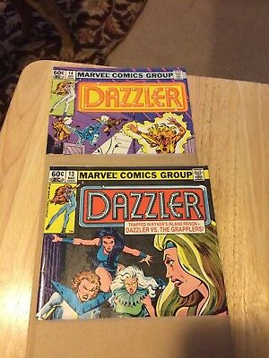 Dazzler #13 and #14 Still In Shipping Sleeves