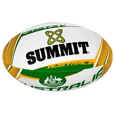 Summit Global First XV Australia Rugby Union Ball Football Size 5 Outdoor/Game