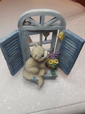 2001 Enesco CALICO KITTENS  Summer Breezes