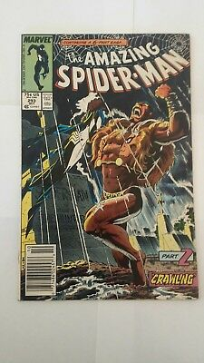 The Amazing Spider-Man #293 and 294 Lot (Oct 1987, Marvel) Kraven's Last Hunt