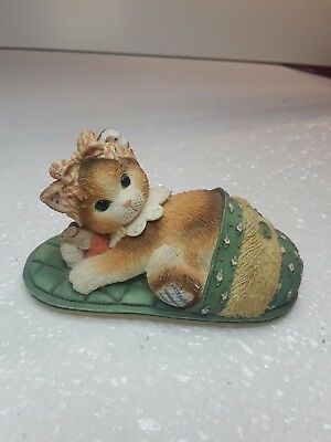 1997 Enesco CALICO KITTENS  nothing as comfortable as being with you