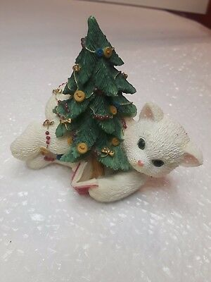 1999 Enesco CALICO KITTENS  O Christmas Tree